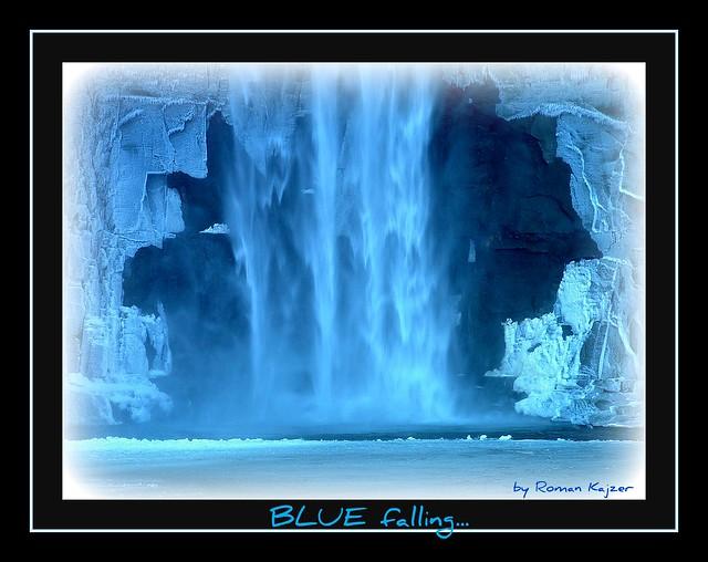 Falling in BLUE 4u...