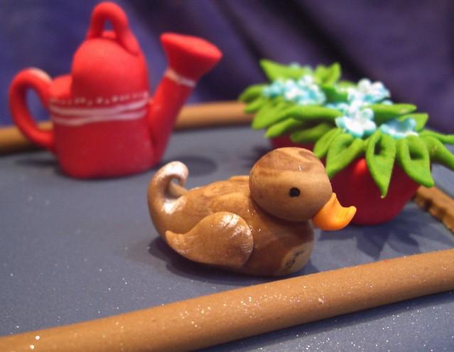 Duck detail!