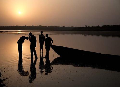 africa beauty sunrise river fishing fishermen scenic natuur westafrica afrika westafrika buba zonsopgang rivier natuurschoon scenicbeauty guineabissau tombali guineebissau riobuba