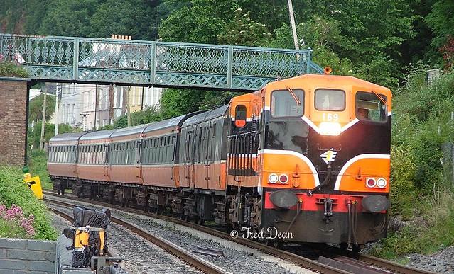 Irish Rail 169 at Tivoli.