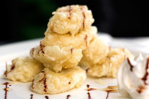 Dessert: Banana tempura | by Linh H. Nguyen