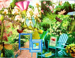 garden collage | by VeganHeart Always