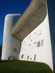Le Corbuser- Notre Dame du Haut, Ronchamp, 1954   by roryrory