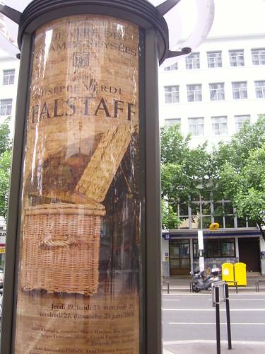 Falstaff à l'affiche à Paris