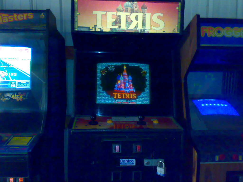 Found: Original Tetяis Machine