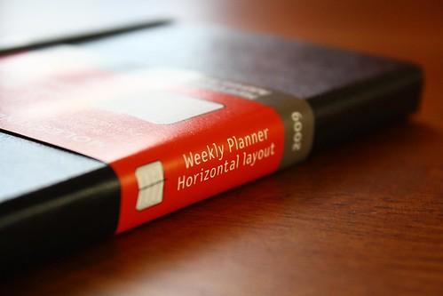 Moleskine Weekly Planner | by ryan chamberlain