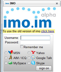 imo allows you to login to skype via the web http layer  | Flickr