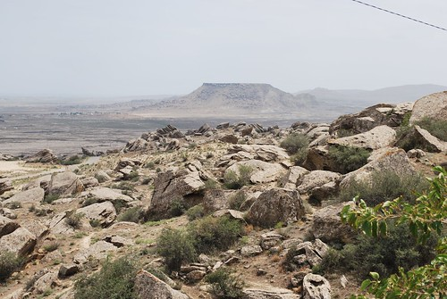 View from Qobustan Petroglyph Museum   by L Gnome