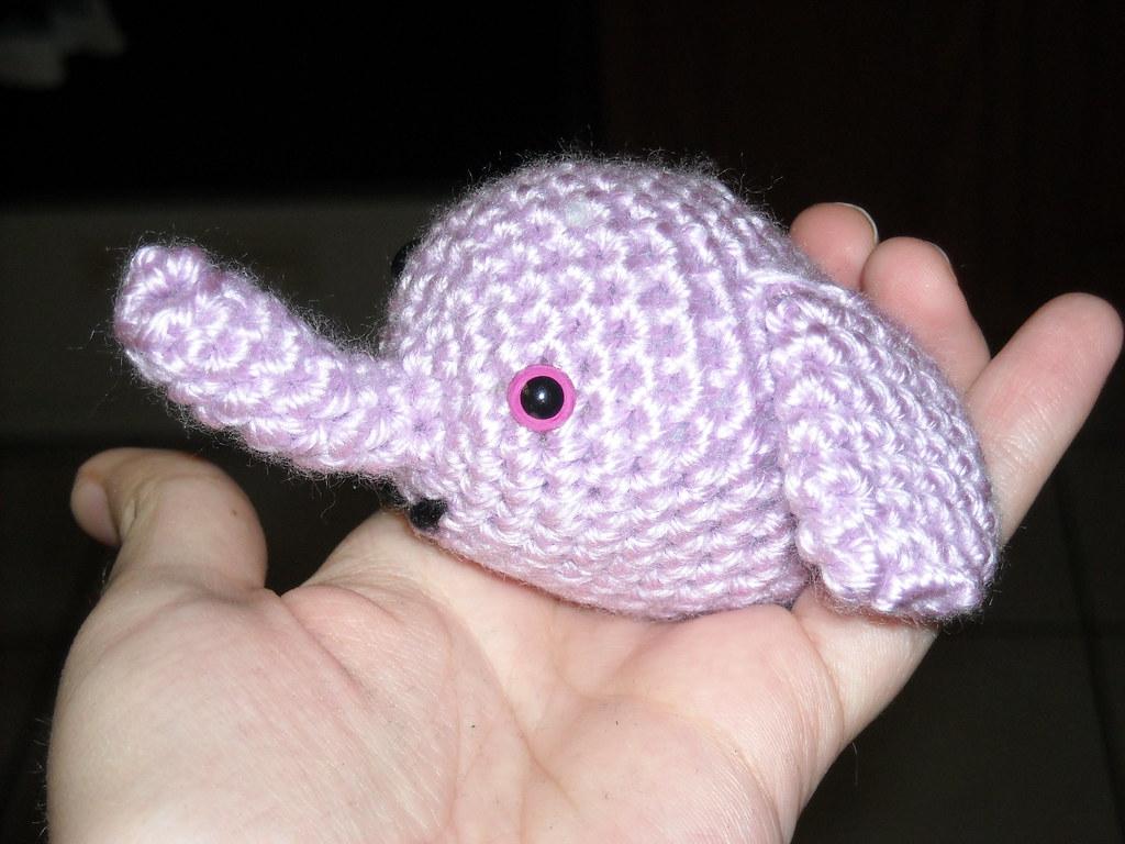 Elton the Elephant Free Crochet Pattern - Stuffed Hearts | 768x1024