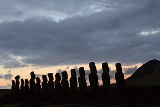 moai sunrise at Tongariki, Easter Island | by Phil Marion (177 million views - THANKS)