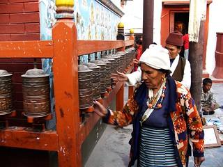 Nepal - Prayer Wheels