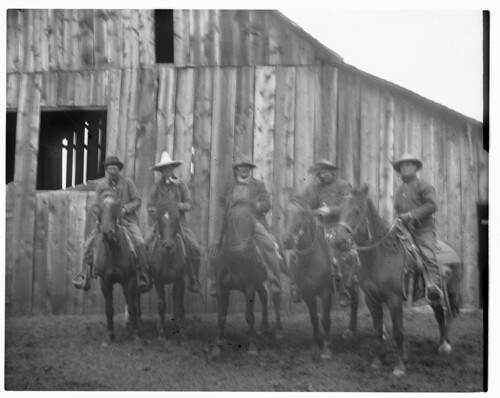 Group of five men on horses | ACCESSION NUMBER: 1992.001 ...