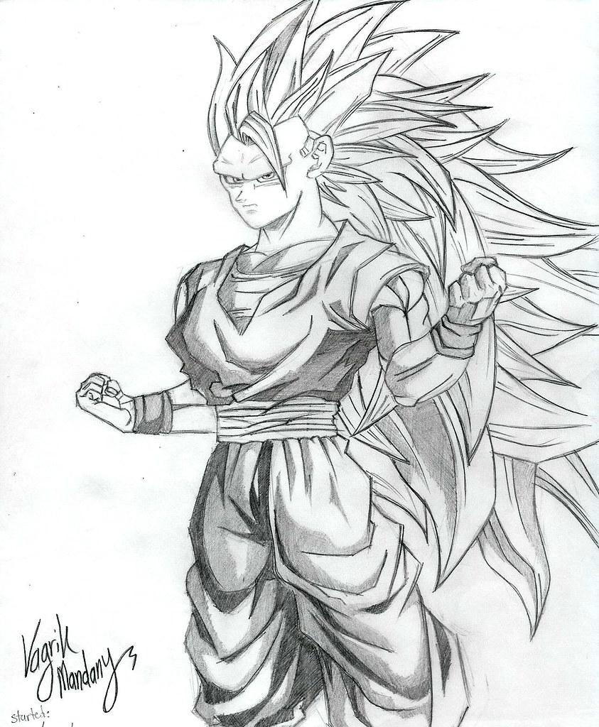 Goku Super Saiyan 3 Vagrik Mandany Flickr