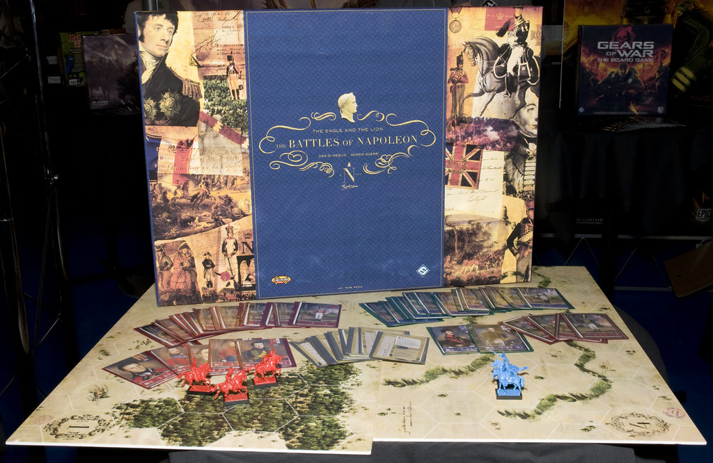The Battles of Napoleon Board Game