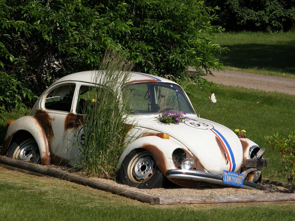 Herbie Is That You Broken Down Love Bug Near St