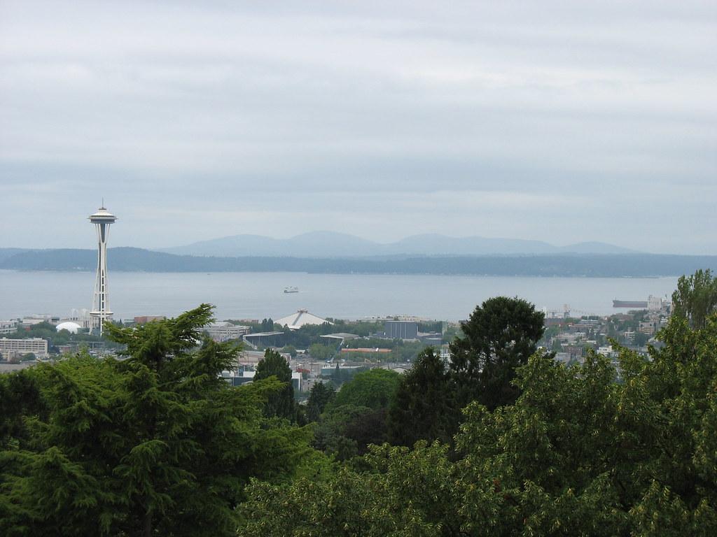 Scenery from Volunteer Park Water Tower