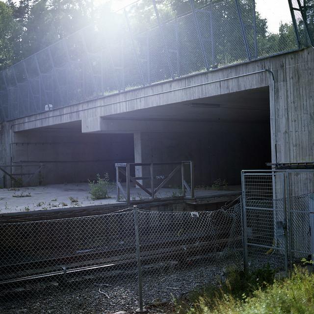 The haunted subway station