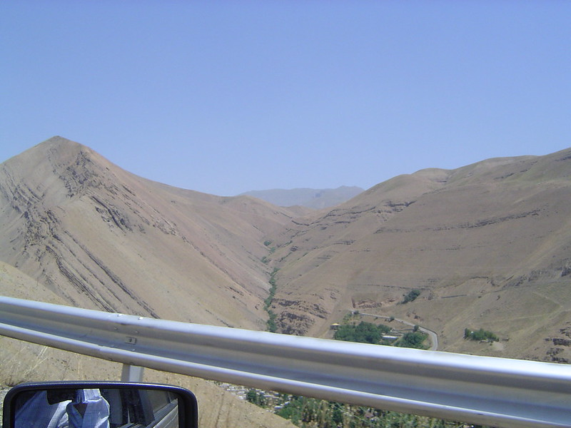 Iran - mountains near Karaj 1