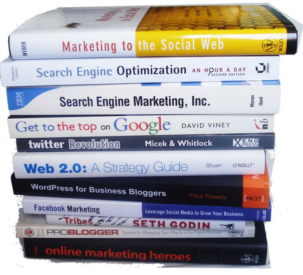 ... Livros de Redes Sociais, SEO e Web 2.0 - by marciookabe