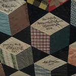 Autograph Quilt: William Cullen Bryant (again), L. Agassiz,