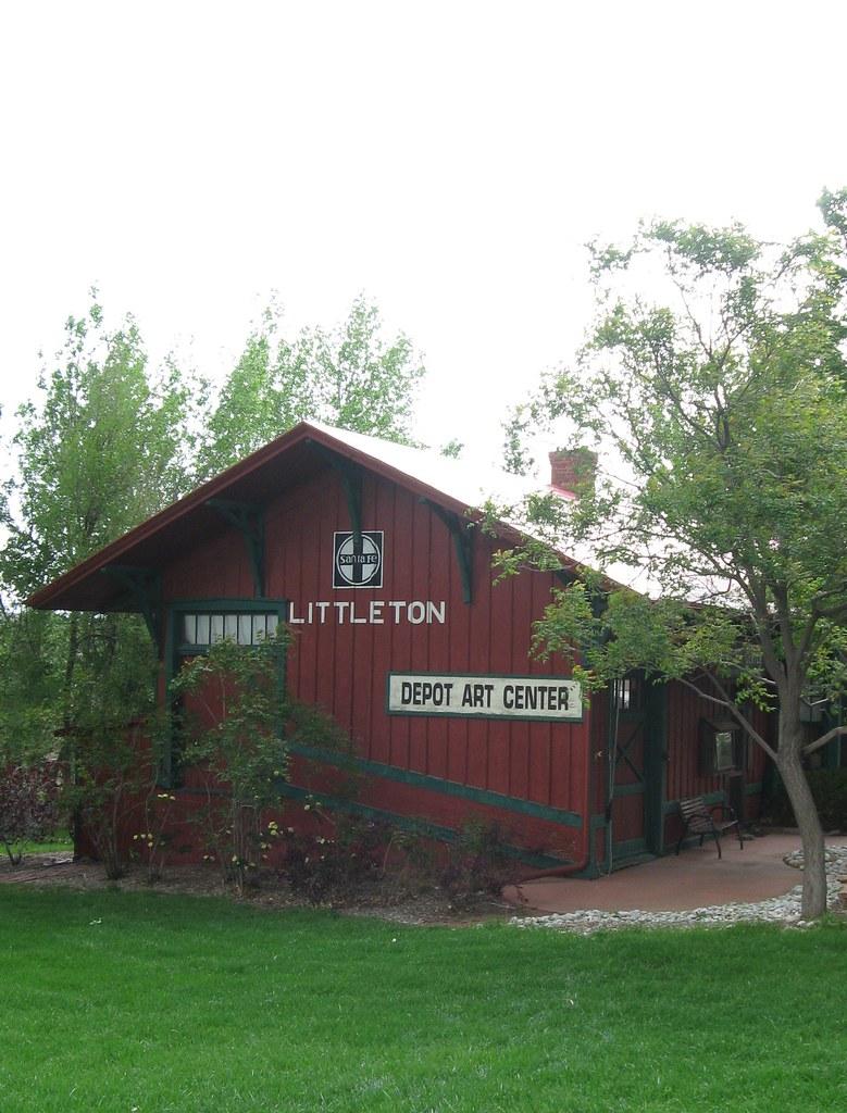 Santa Fe Depot at Littleton, CO