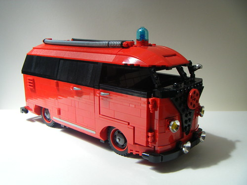 Lego vw split screen barn door