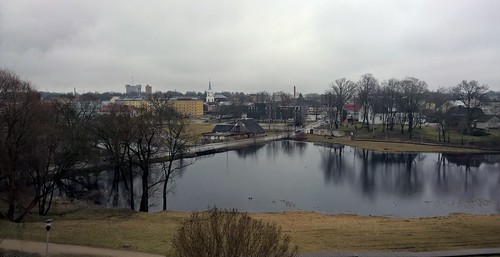 river landscape estonia latvia valga valka
