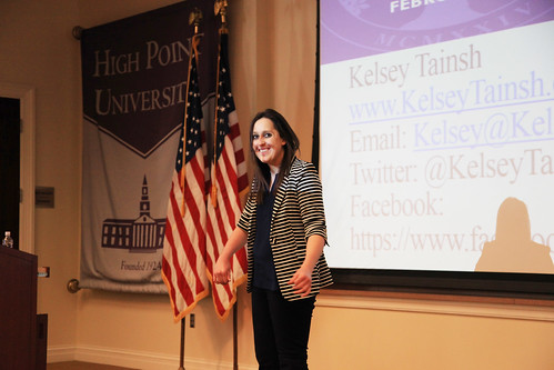 Kelsey Tainsh by HIGH POINT UNIVERSITY