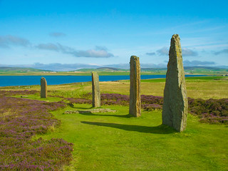 Ring of Brodgar in Orkney   by Shadowgate