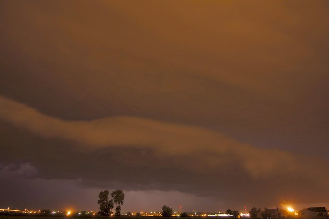 July 1, 2008 - More Late Night Supercell Fun!  YeeeHAAA!