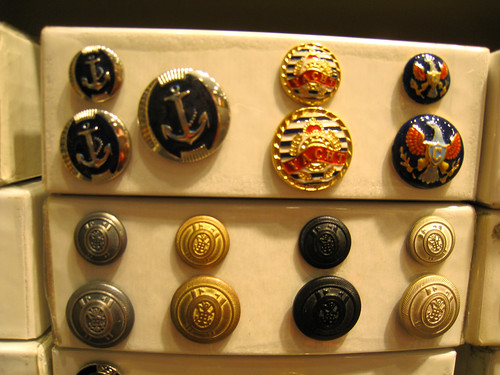 Nautical Buttons at M&J | by katy elliott