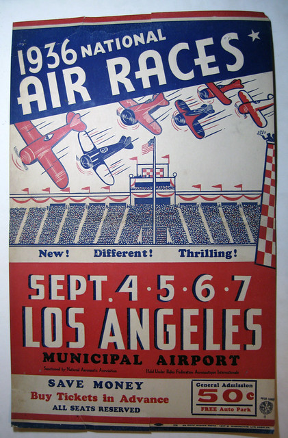 L.A. Airport National Air Races 1936
