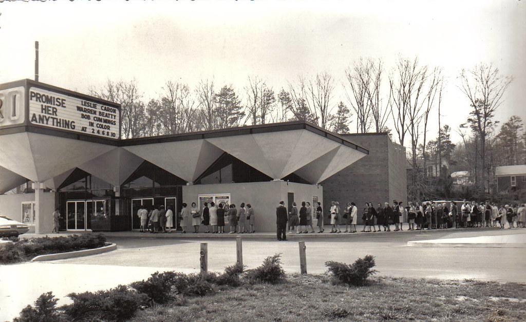 Capri Theatre-1966, Charlotte, NC