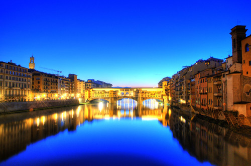 travel bridge italy sunrise florence nikon italia alba scenic ponte firenze viaggi hdr d300 oldbridge helland ponteveccho thechallengefactory sailorman627