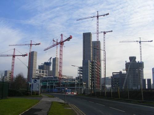 Media City Cranes | by Pimlico Badger