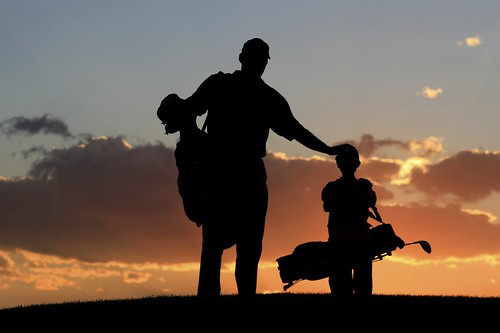 Family Golf - Evening View of Golf Ground | by Grand Velas Riviera Maya