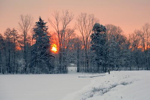 pfogold pfoisland07a annarbor michigan bartondam sunrise winter snow challengew photofaceoffplatinum cw herowinner agcgsweepwinner gamewinner gamex2winner friendlychallenges instagram ff perp cf cu