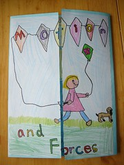 Forces and Motion Lapbook Cover | by jimmiehomeschoolmom