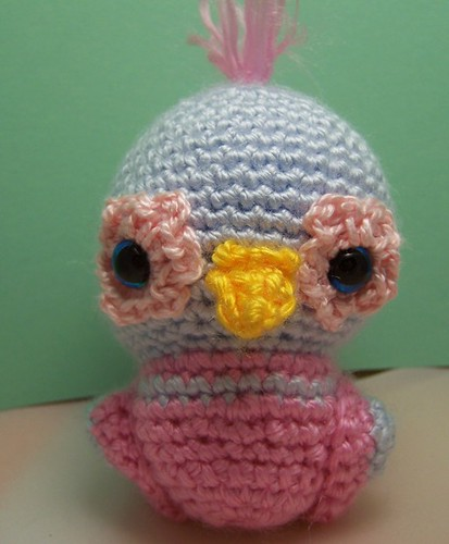 Crochet Bird Amigurumi Free Patterns | Crochet bird patterns ... | 500x413