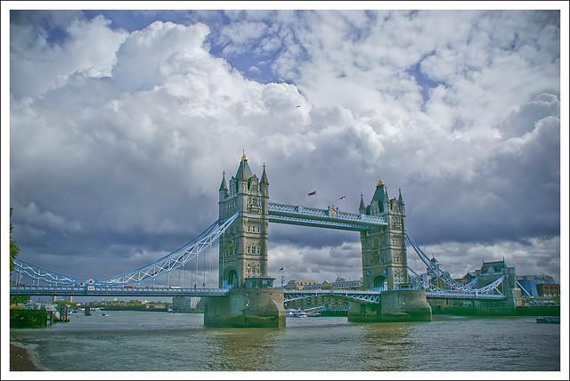 Cloudy Tower Bridge