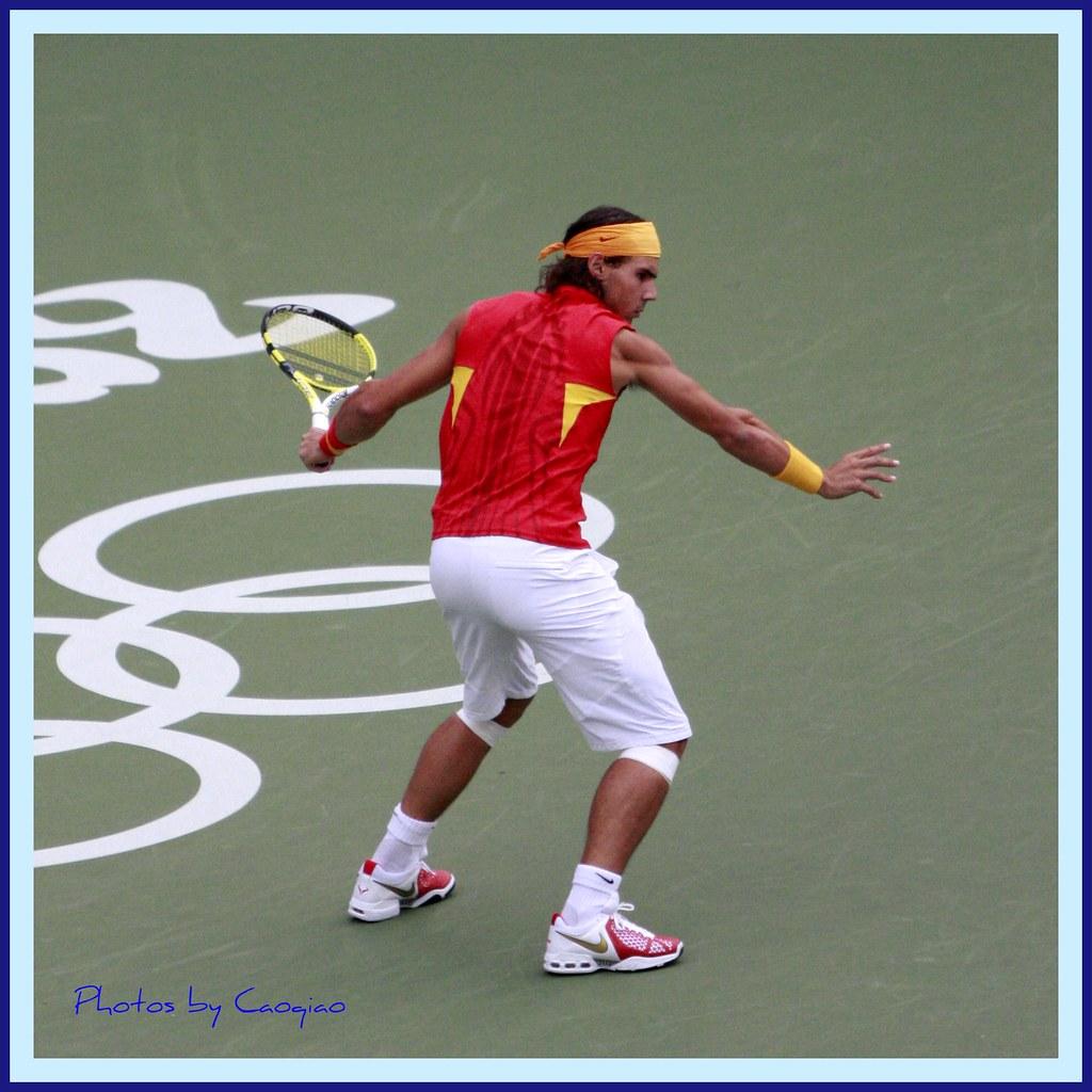 2008北京奥运会网球_纳达尔教你打网球--一夫当关 | 2008年8月17日,北京奥运会男子 ...