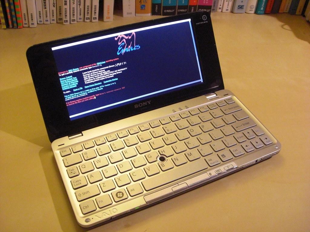 Ubuntu Vaio type P