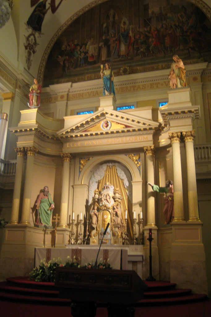 New Orleans French Quarter St Louis Cathedral Altar