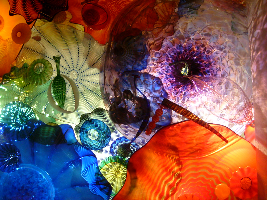 Chihuly Glass - Ceiling Flowers