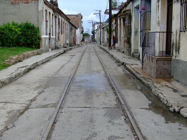 Traintracks in Regla