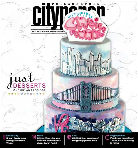 Philadelphia City Paper Choice Awards 2008 Cover Cake | by Whipped Bakeshop