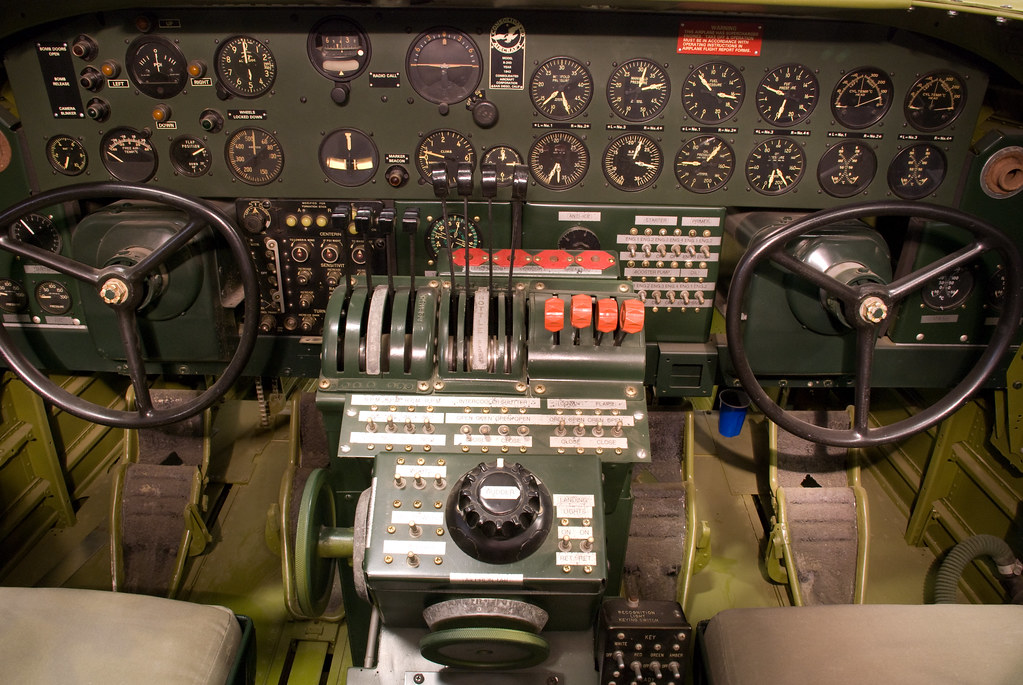 B-24D Cockpit
