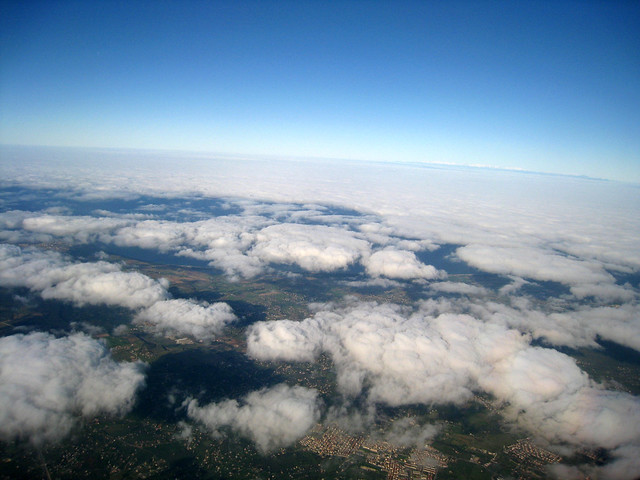 The world above the clouds