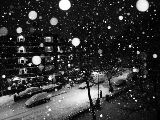 London White City Snow
