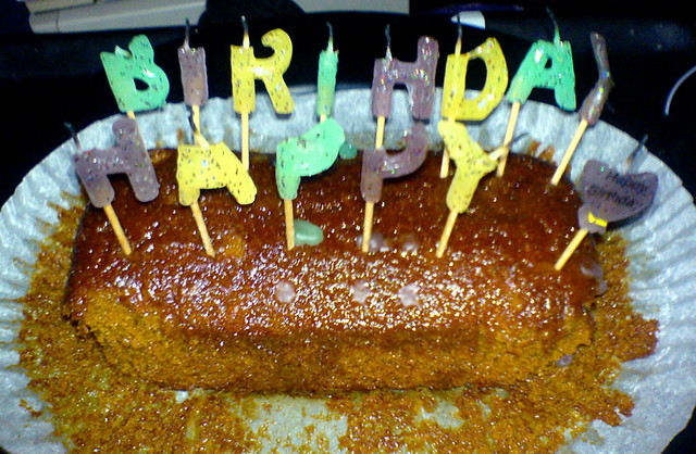 Awe Inspiring Jamaica Ginger Birthday Cake Carolina Maria Fasolo Flickr Funny Birthday Cards Online Overcheapnameinfo
